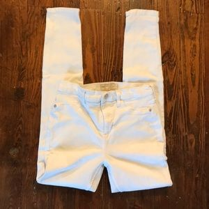 Free People White Jeans size 28R